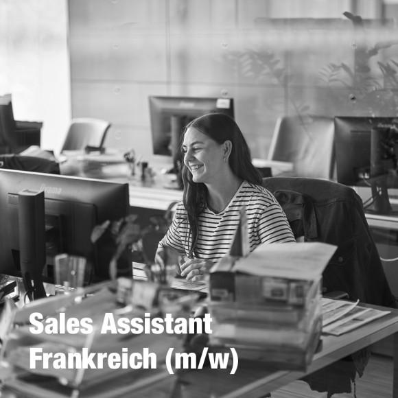 Sales Assistant Frankreich (m/w)