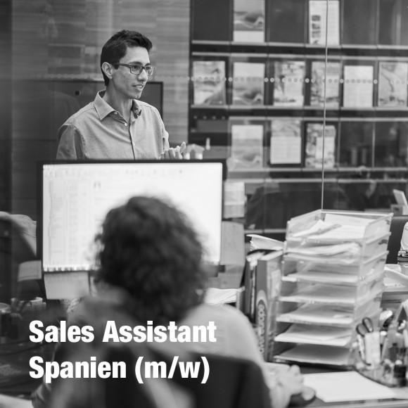 Sales Assistant Spanien (m/w)