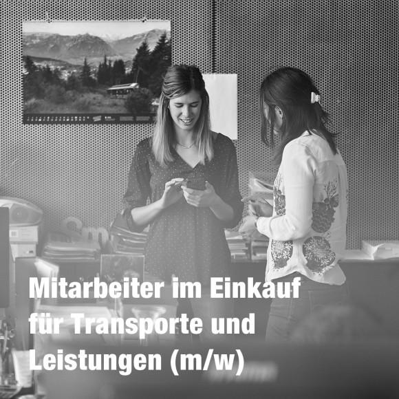 Mitarbeiter im Einkauf für Transporte und Leistungen (m/w)
